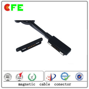 Wearable 5pin Magnetic Power Cable Connectors pictures & photos