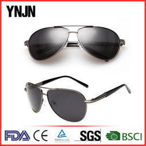 Ynjn Premium Alloy Pilot Mens Polarized Sunglasses (YJ-F8585) pictures & photos