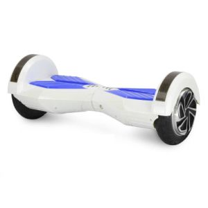 M03 8 Inches White Two Wheels Self Electric Scooter Balance