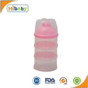 Multi Colors 3 Layers Baby Milk Powder Container for Food Storage