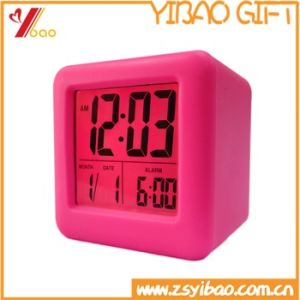 New Cheapest Silicone Clock/Fashion Alarm Clock/Desktop Clock Wholesale pictures & photos