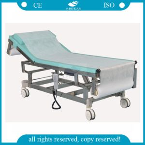 AG-Ecc03A High Quality Electric Examination Couch with Paper Roll pictures & photos