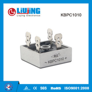 Kbpc1010 10A 1000V Bridge Rectifier for Rectifier Power pictures & photos