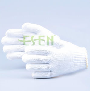 Hot Sale Competitive Price 7 Gauge 10 Gauge Polyester Gloves pictures & photos