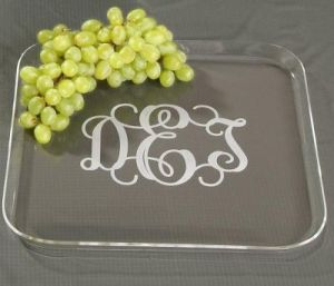 Customize Sever Use Clear Color Acrylic Tray pictures & photos