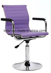 Comfortable PU Upholstery Swivel Arm Chair (LL-BC055) pictures & photos