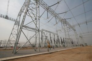 High Quality Steel Transmission Line Tower, Substation Structure