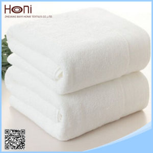 Custom Made Factory Price White Hotel 100% Cotton Face Towel