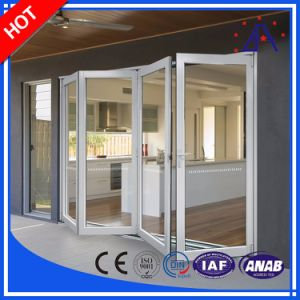Aluminum/Aluminum Folding Doors and Windows for Shop and Home and Hotel pictures & photos
