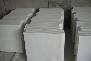 Chinese Pure White Marble Polished Tiles 60X60X1.8cm pictures & photos
