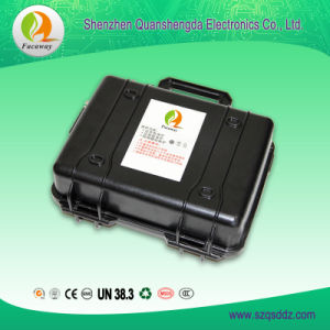 (QSD1604) 11.1V 120Ah Energy Storage Lithium Battery Pack pictures & photos