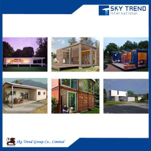 Prefabricated Housing Accommodation Modified Shipping Container House pictures & photos