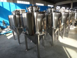 Stainless Steel Flanged Type Conical Fermenter pictures & photos