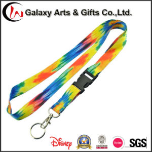 Cheap Polyester Keychain Lanyard for Promotional