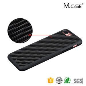 New Style Protective Smartphone Cover TPU+PC Carbon Fiber Case for iPhone 7 Plus, Mobile Phone Accessories pictures & photos