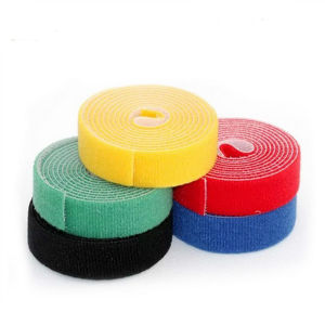 100% Nylon Hook and Loop Self Adhesive Fastener Tape pictures & photos