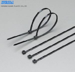 Cable Ties Self-Locking Assorted Nylon Zip Wire Tie-Wrap in Black & White