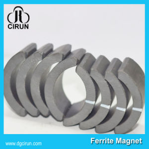Custom Arc Shape Ferrite Ceramic Motor Magnets