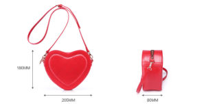 Mini Heart-Shaped Bags Kk2012dq pictures & photos