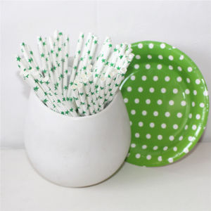 Green Star Paper Straw for All Occasion pictures & photos