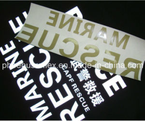 Heat Transfer Reflective Logo Safety Protecting