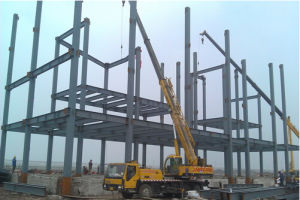 Design & Manufacture Workshop Warehouse/ Steel Structure Building with Ce Certification