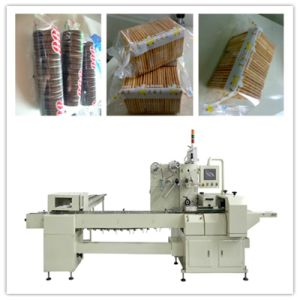 on Edge Biscuit Flow Packing Machine pictures & photos