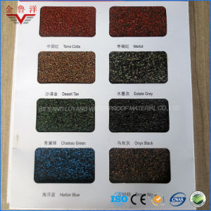Colorful Asphalt Roofing Shingle /Different Shapes Colorful Asphalt Shingle /Tile