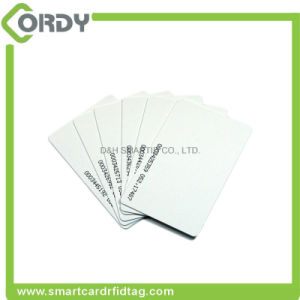 Blank White Proximity Chip 125kHz PVC Smart RFID Card