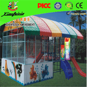 Hot Sale Combined Spring Trampoline with Ball Pool pictures & photos