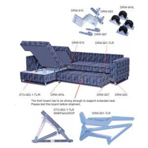 China Storrage and Drawing Sofa Bed Mechanism China Sofa Bed