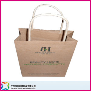 Shopping Kraftpaper Bag (XC-5-022) pictures & photos
