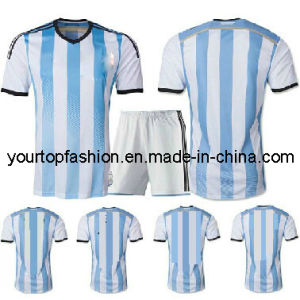 outlet store 0eb8c 6dbde China 3AAA+ Top Thai 2014 Argentina Jerseys Fans Version ...