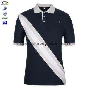 2cd7cf71 China White and Blue Color Combination Collar Design with Polo Shirt ...
