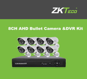 8CH Ahd Bullet Camera &DVR Kit Ahd-Kit-0801b