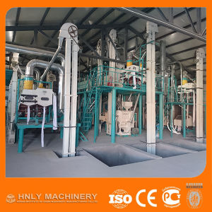 High Efficiency Complete Set Maize Flour Mill pictures & photos