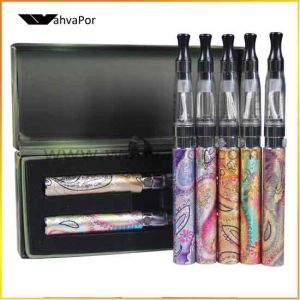 2013 Hot Selling EGO-Q with CE4 Clearomizer Dual Starter Kit E Cigarette with EGO Carry Case