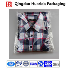 Custom Self Adhesive Clear Plastic Garment Packaging Bags T Shirt Bag