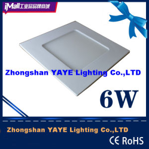 Yaye CE/RoHS SMD 6W Square LED Panel Light with Factory Price pictures & photos
