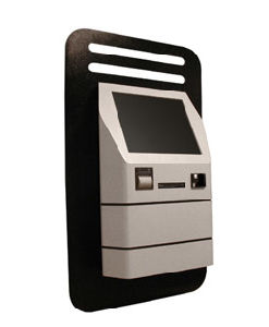 Wall Mounted Finance Banking Touch Kiosk