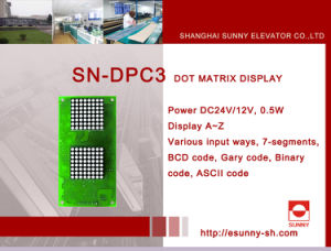 Inch Display for Elevator (SN-DPC3) pictures & photos