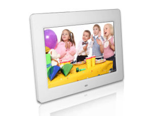 10 Inch White Case Digital Photo Frame pictures & photos
