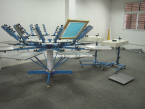 Manual Textile Screen Printing Machine Prices pictures & photos