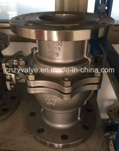 2PC Flange Stainless Steel 304/316/304L/316L Ball Valve with Mounting Pad pictures & photos