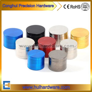 Hot Sales Colorful CNC Aluminum Portable Spice Grinder Herb Grinder pictures & photos