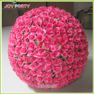China New Design Artificial Flower Ball For Shopping Mall Decoration