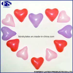 China Wholesale Red Heart Shape Helium Latex Balloons for Charming Party Decoration pictures & photos