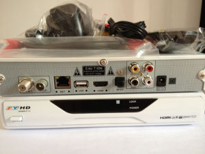 Newest Singapore Receiver White FYHD800C III with Media Player