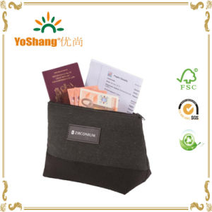 Women′s Beauty Makeup Bag, Linen Cosmetic Bag, Travel Toiletry Cosmetic Bag pictures & photos