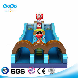 Cocowater Design Corsair Theme Inflatable Slide LG9022
